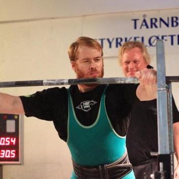 Øjeblikket inden der bliver lavet dansk rekord i squat