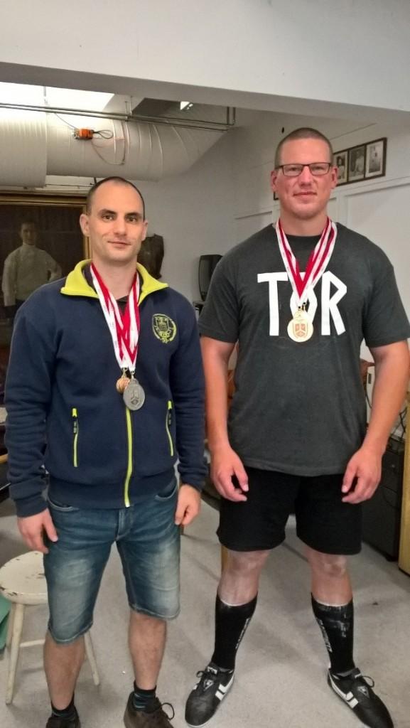 Medaljer til Nick og Carsten til SM 2017